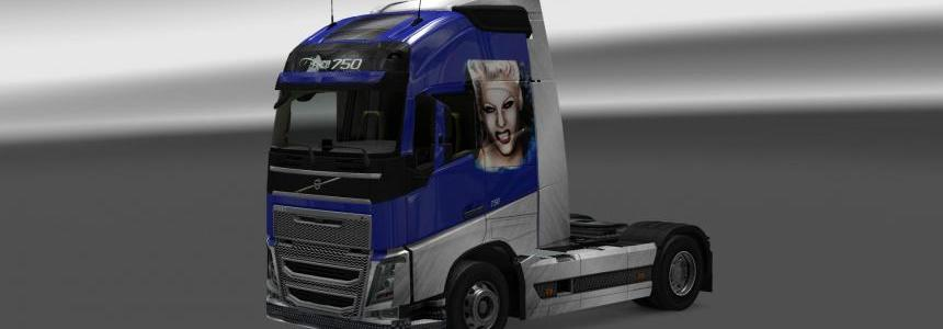 Volvo FH 2013 Pink Skin