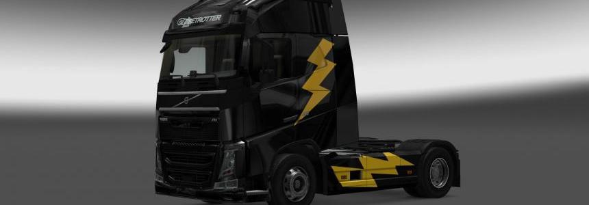Volvo FH16 2012 Thunder Skin v1