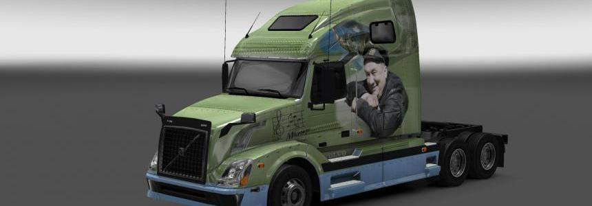 Volvo VNL 670 Only Old Men Are Going to Battle Skin