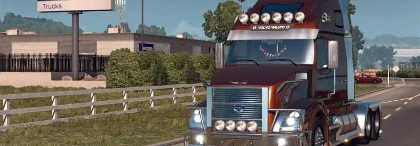 Volvo VNL670 for ATS by Aradeth v1.3