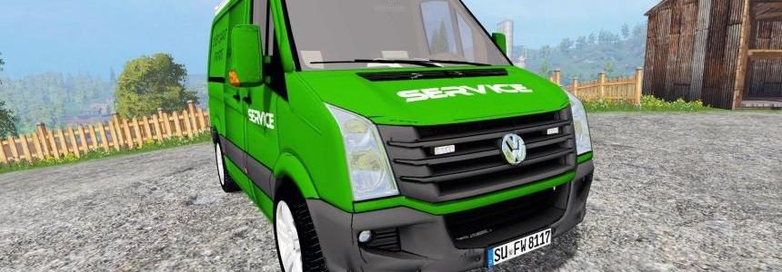 VW CRAFTER SERVICE [POUR GALAX] v1