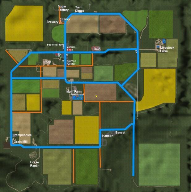 IDAHO USA SMG MF MAP V Modhubus - Idaho on us map