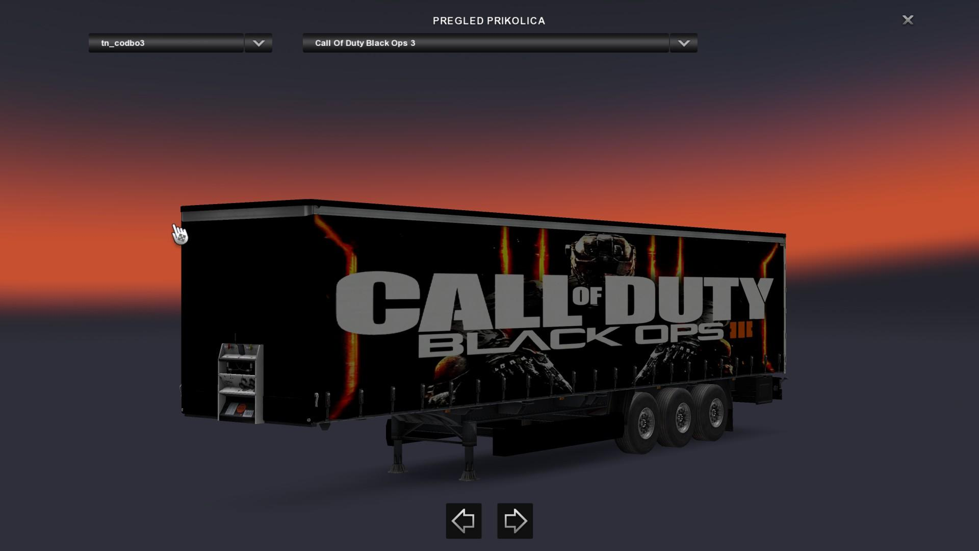 Special Ops Truck >> Call Of Duty Black Ops 1,2,3 Trailer Pack v1 - Modhub.us