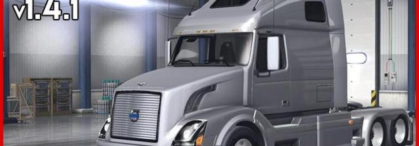 Volvo VNL 670 for ATS v1.4.1 by Aradeth
