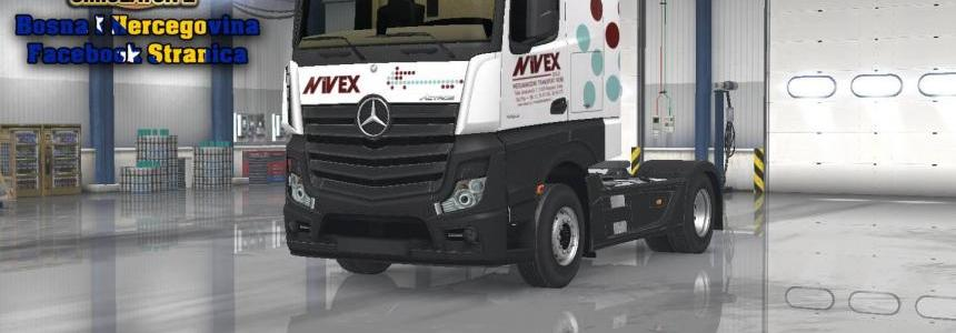 Mercedes MP4 Nivex Skin