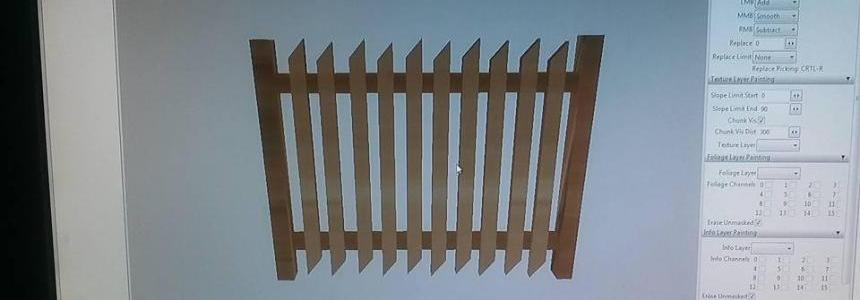 Plot drewniany by ODGT