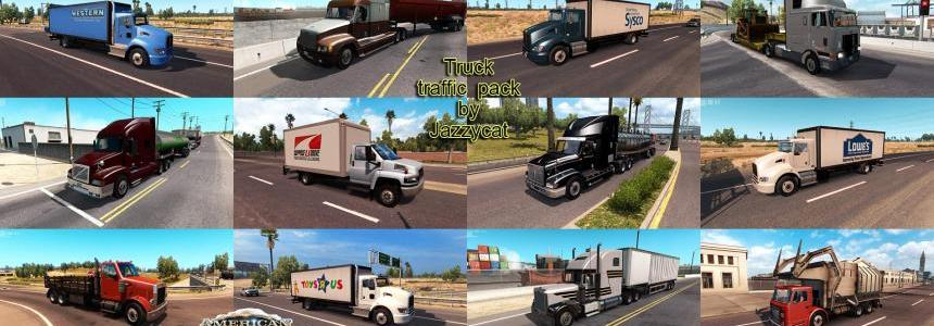 Truck Traffic Pack by Jazzycat  v1.4