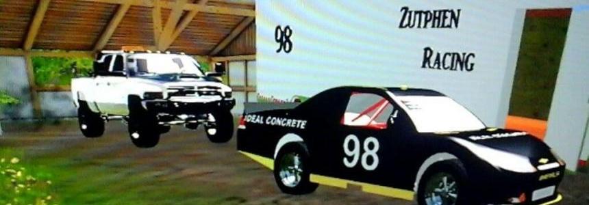98 nascar + trailer v1