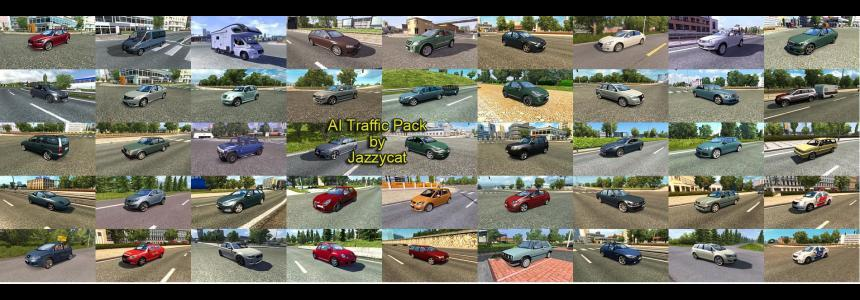 AI Traffic Pack by Jazzycat  v3.6