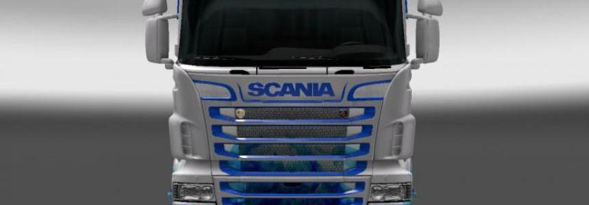 Arctic Fire Skin for RJL SCANIA R Longline