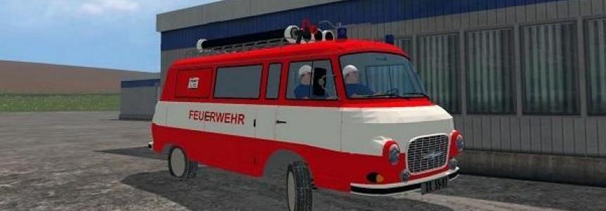 Barkas B1000 Feuerwehr v1.0
