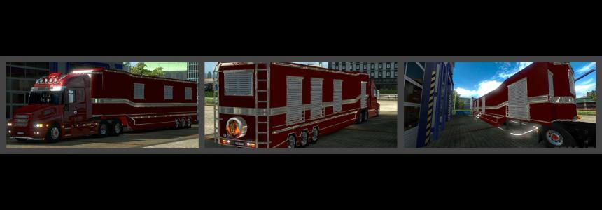 Caravan Trailer for Iveco Strator v2.5