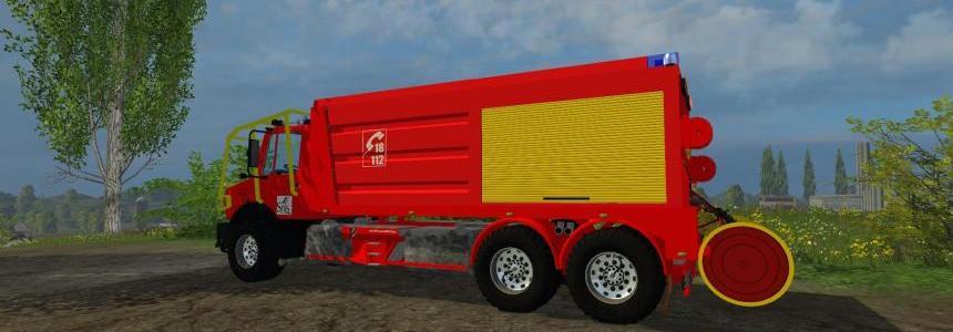 CCFS sur chassis unimog v1