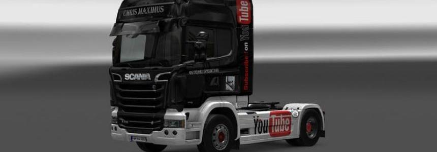 CHRIS MAXIMUS Scania Streamline Skin