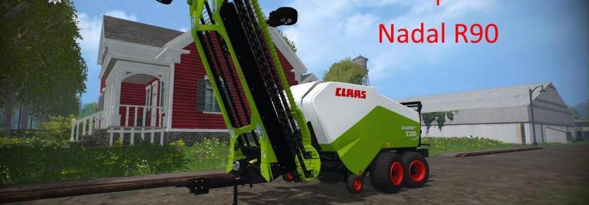 Claas Quadrant 3200 + Nadal R90 v1.0