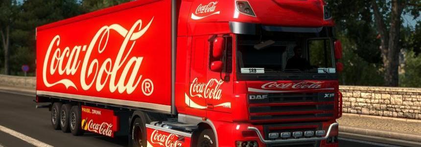 DAF, Iveco Hiway, Renault Premium Coca-Cola Combo v1