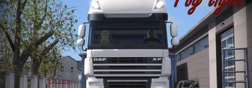 DAF XF 105 Fog light v1.5