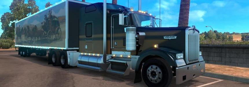 DC-Smokey and the Bandit Trailers for ATS v1