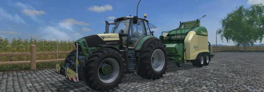 DEUTZ FAHR 7250 TTN WARRIOR v7.0