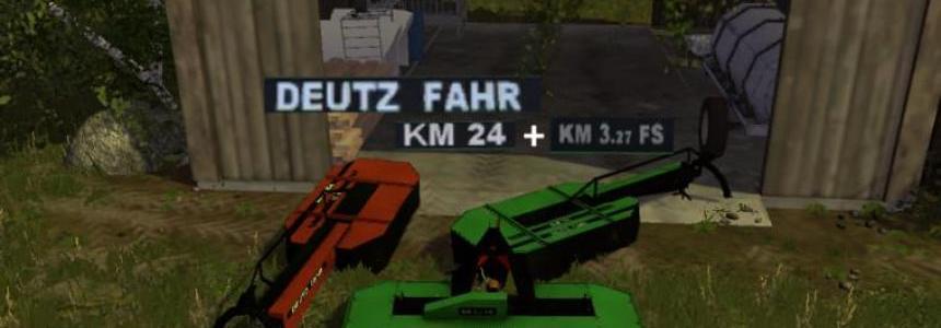 Deutz Fahr KM327 KM24 v1.0