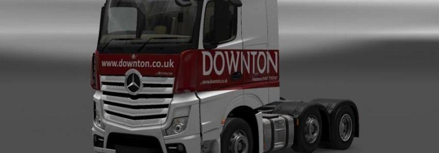 Downton delivers Truck skin Pack v1.0