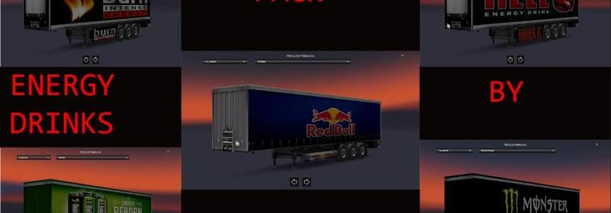 Energy Drinks Trailer Pack By Gile004 v1