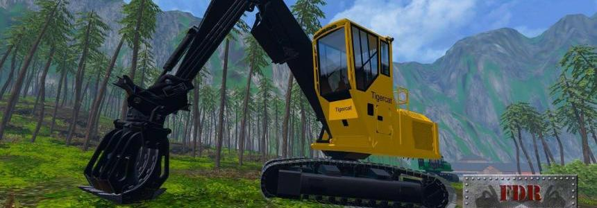 FDR Logging - Tigercat 875 Log Loader