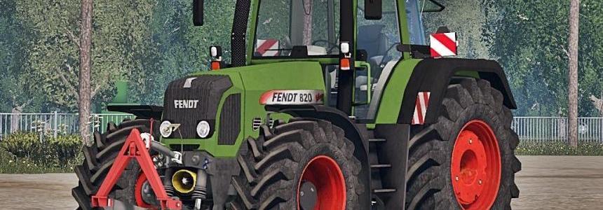 Fendt 820 TMS Final Pack