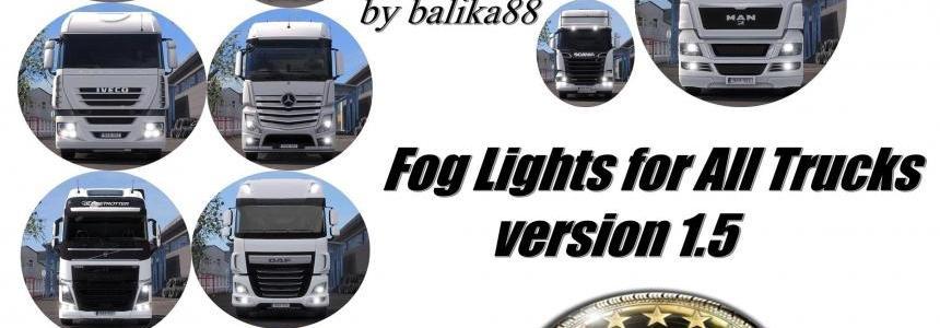Fog Lights for all Trucks v1.5