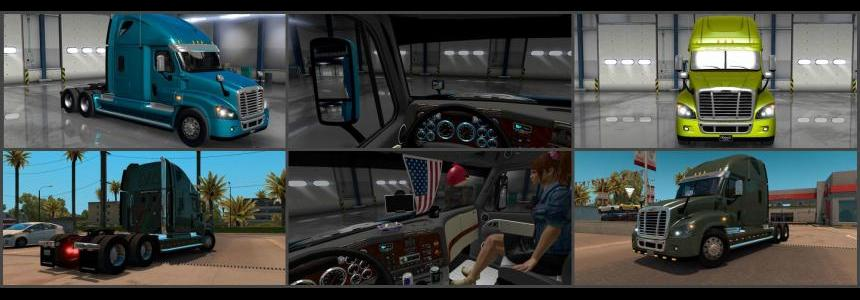 Freightliner Cascadia for 1.23 v1.1