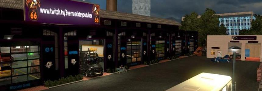 Garages mod black dark purple v1.23