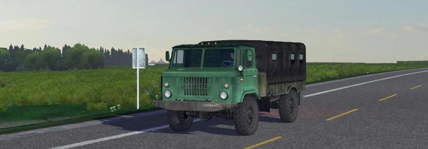 GAZ 66 in traffic v1.0