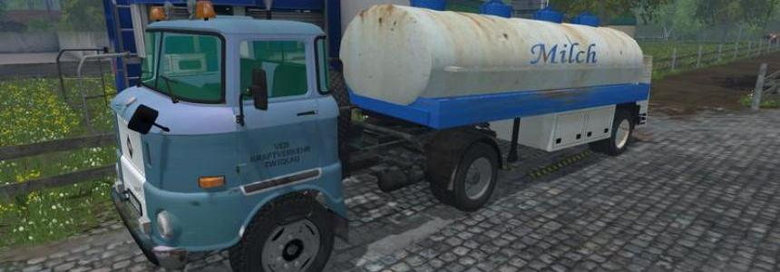 GDR Milk Semitrailer v1.0 clean