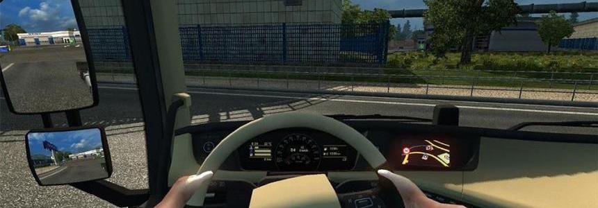 Hands on Steering Wheel – Volvo FH16 2012