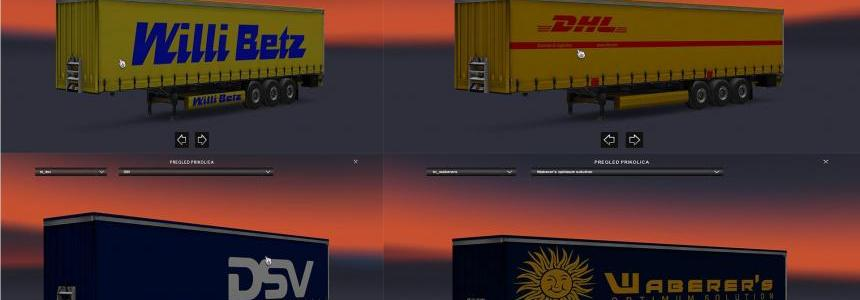 International Trailers Skin Pack By Gile004