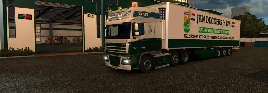 JAN DECKERS - DAF 105 XF 50 Keda 1.23