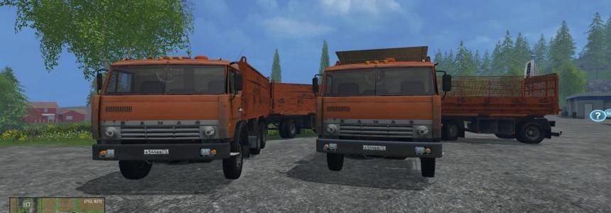 Kamaz 55102 Pack v1.0