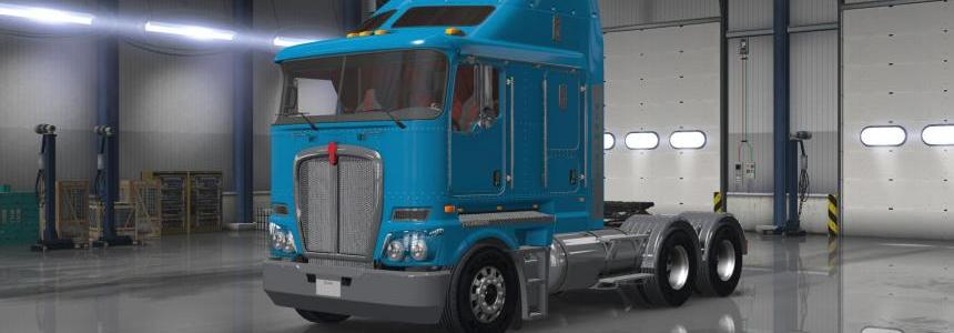 Kenworth K200 V11 Texture Fix