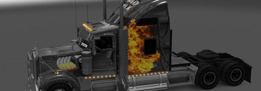 Kenworth W900 Mad Max Skin
