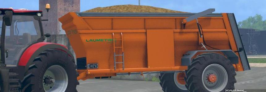Laumetris manure spreader MKL-14 v1