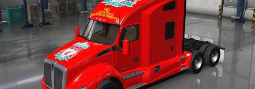 Liverpool Kenworth T680 skin