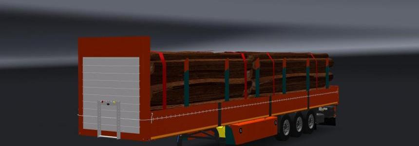 Log Trailer Fix Wheel 1.23
