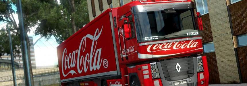 Magnum, Mercedes, Iveco Stralis Coca - Cola Combo v1