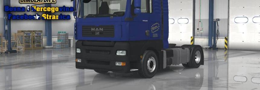 MAN TGA ABC Jukan Blue Skin