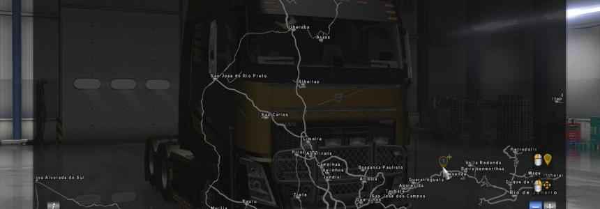 Map of Brazil for ATS from Mario v1.2