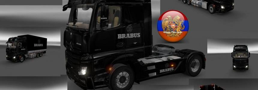 Mercedes Actros MP4 Brabus Skin