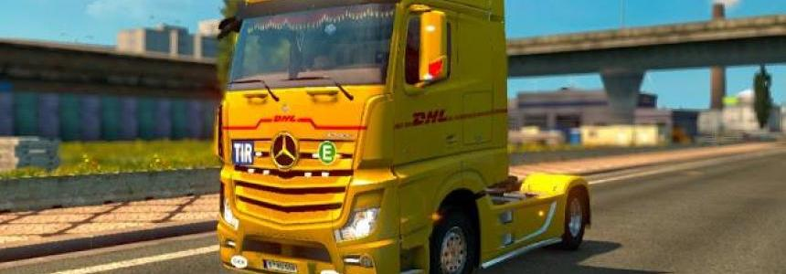 MERCEDES ACTROS MP4 V1.11