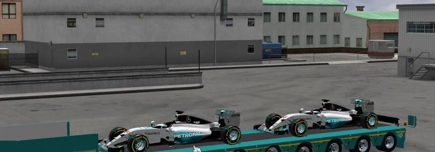 Mercedes AMG Petronas Formula One Team v1.1