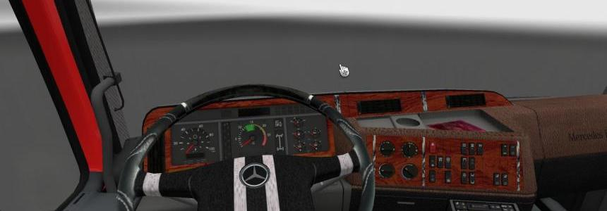 Mercedes-Benz Actros MP1 Interior