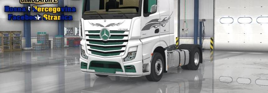 Mercedes MP4 Tarevci Comerc White Skin